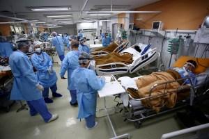 Brasil registró un nuevo récord diario de casos confirmados de Covid-19