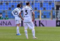 La Juventus, sin Cristiano, se estrelló en Bérgamo y su clasificación a Champions pende de un hilo