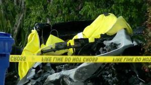 """Accidente de un auto Tesla """"sin nadie al volante"""" ocasionó dos muertes en EEUU"""