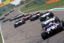 """EN VIDEO: El bestial choque en el GP de Imola de la Fórmula 1 que dejó dos monoplazas hechos """"un chiquero"""""""
