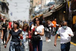 Israel se quita la mascarilla al aire libre y da otro paso más hacia la normalidad