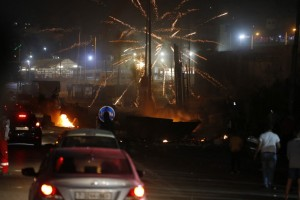 Balas de goma y granadas causan estragos en Jerusalén (Fotos)
