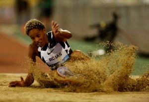 Yulimar Rojas a la caza del récord mundial del salto triple