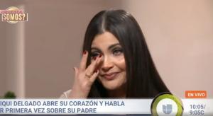 Chiquinquirá Delgado llora al confesar cómo murió su padre en Venezuela