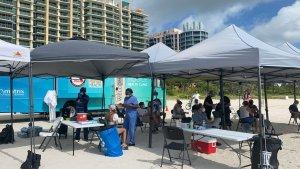 Miami Beach continúa vacunación contra el Covid-19 este #09May