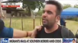 Venezolano rompió en llanto tras cruzar el río Bravo y ser captado por autoridades de EEUU (Video)