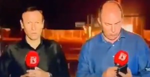 EN VIDEO: Misil se activó desde el sistema antiaéreo en Israel… en plena transmisión en vivo