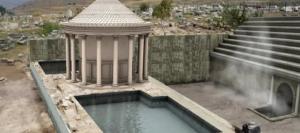 """La clave de la antigua """"puerta romana al infierno"""" que mataba a sus víctimas con su lago mortal"""