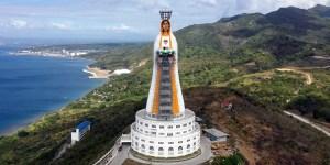 ¡Increíble! Construyeron en Filipinas la estatua de la Virgen María más grande del mundo