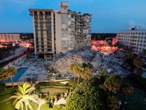 Suben a tres los muertos tras el derrumbe de edificio en Miami
