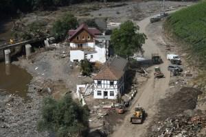Temen que se repitan las lluvias que causaron inundaciones sin precedentes en Alemania