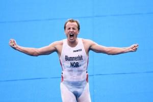 El noruego Kristian Blummenfelt ganó el oro olímpico de triatlón en Tokio-2020