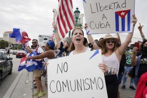 Exilio continúa movilizaciones en Washington para exigir acciones contra el régimen cubano