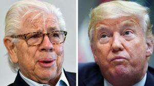 "El periodista Carl Bernstein calificó a Trump como un ""criminal de guerra"""