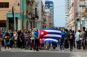 """UE pide al Gobierno cubano """"permitir"""" y """"escuchar"""" a los manifestantes"""