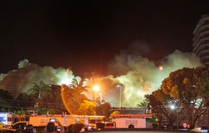 El edificio parcialmente derrumbado en Miami fue demolido por completo