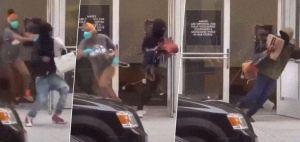 EN VIDEO: Asaltan tienda de lujo y huyeron con bolsos a plena luz del día en EEUU