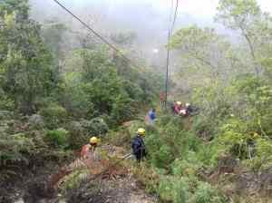 Rescatan a dos ciudadanas lesionadas en el Parque Nacional El Ávila