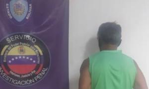 Capturaron a desalmado que obligaba a cometer actos lascivos a sus hijas en Bolívar
