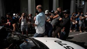 HRW aseguró que los detenidos en las masivas protestas en Cuba son más de 150
