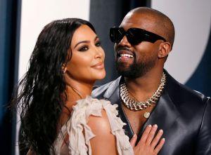 El apoyo sigue intacto: Kim Kardashian en el lanzamiento del nuevo disco de Kanye West