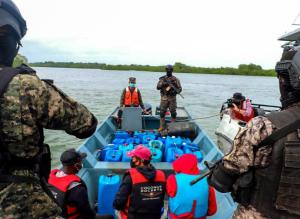El Salvador decomisó cargamento de cocaína valorado en más de 14 millones de dólares