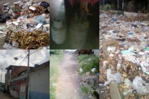 Basura, falta de gas y luz:  Así sobreviven en Guaiparito, estado Bolívar (FOTOS)