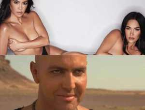 ¡Tus deseos más perversos se hicieron realidad! Megan Fox y Khloe Kardashian juntas en pantaletica(FOTOS)