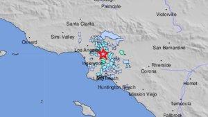 Sismo de magnitud 3.9 sacudió varias zonas del sur de California