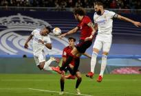 Real Madrid no pudo con el muro del Osasuna y se conformó con un empate