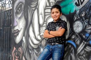 Brandon, el niño tatuador mexicano que plasma su talento en la piel (FOTOS)