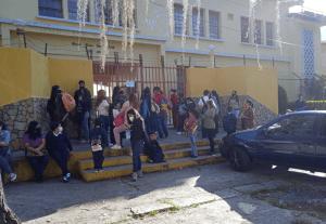 En Mérida, se reporta baja afluencia de estudiantes en el retorno a clases #25Oct (FOTOS)