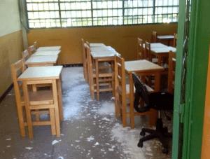 Se acentúa el colapso de la Escuela Técnica Forestal de la ULA en Mérida: Se desploman las instalaciones (FOTOS)