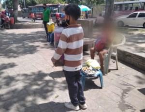 """""""Si no salgo a pedir, no comemos"""": Aumentó el número de niños en situación de calle en Maturín"""