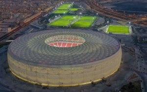 """""""Al Thumama"""": El nuevo estadio que Catar inauguró para el Mundial de 2022 (VIDEO)"""