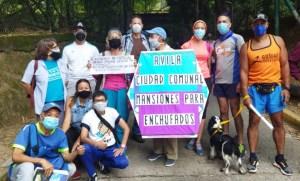 """En imágenes: Caraqueños rechazaron pretensión de Maduro de crear una """"ciudad comunal"""" en El Ávila #24Oct"""
