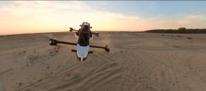 Crearon vehículo volador muy parecido a las naves de Star Wars (FOTOS)