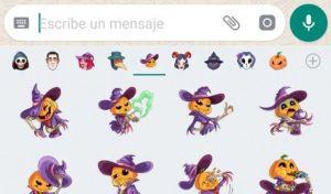 Toma nota: Cómo descargar los stickers de Halloween para WhatsApp