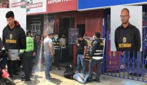 Capturaron a dos venezolanos cuando intentaban robar una casa de apuestas deportivas en Perú